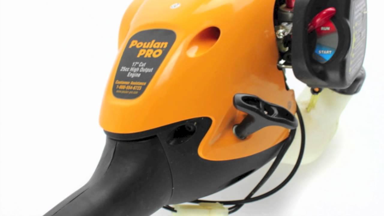 poulan pro gas line trimmer pp125 rb youtube rh youtube com poulan pro pp125 parts manual Poulan Pro Weed Eater Parts Diagram