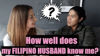 How well does my FILIPINO HUSBAND know me? I Vlog on with RJ & Tin I Vlog 42