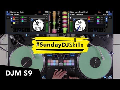 Pioneer DJM S9 w/ Serato DJ - Hip Hop vs D&B vs Indie Mix!