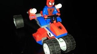 レゴ スーパー・ヒーローズ スパイダートライク vs. エレクトロ 76014 ...
