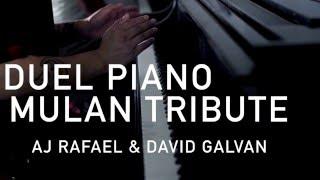 Duel Piano Mulan Medley ft. David Galvan | AJ Rafael