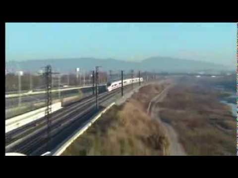 Primeras circulaciones directas de alta velocidad entre España y Francia