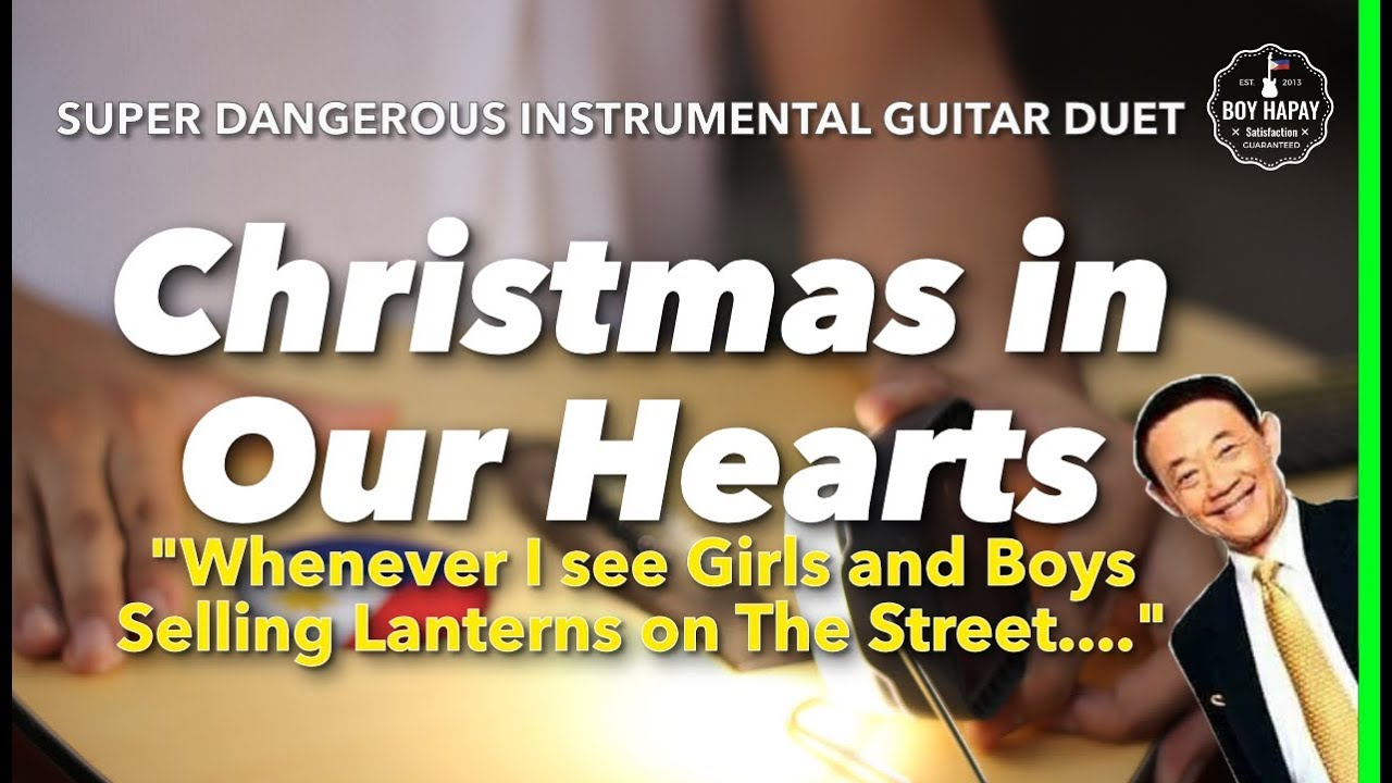 Christmas In Our Hearts Minus One With Lyrics - LyricsWalls