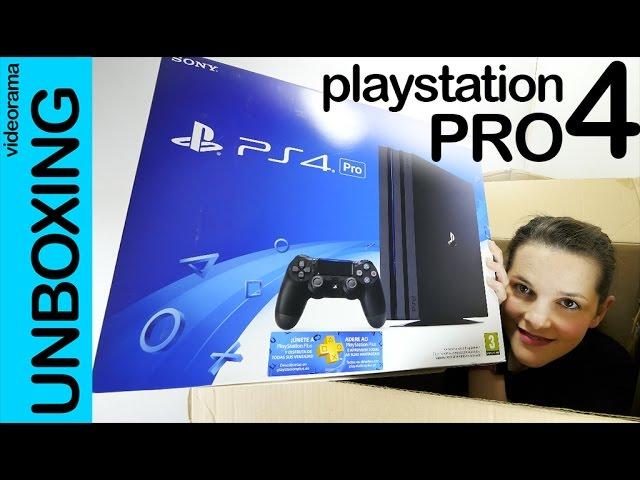 PlayStation 4 Pro unboxing en español | 4K UHD
