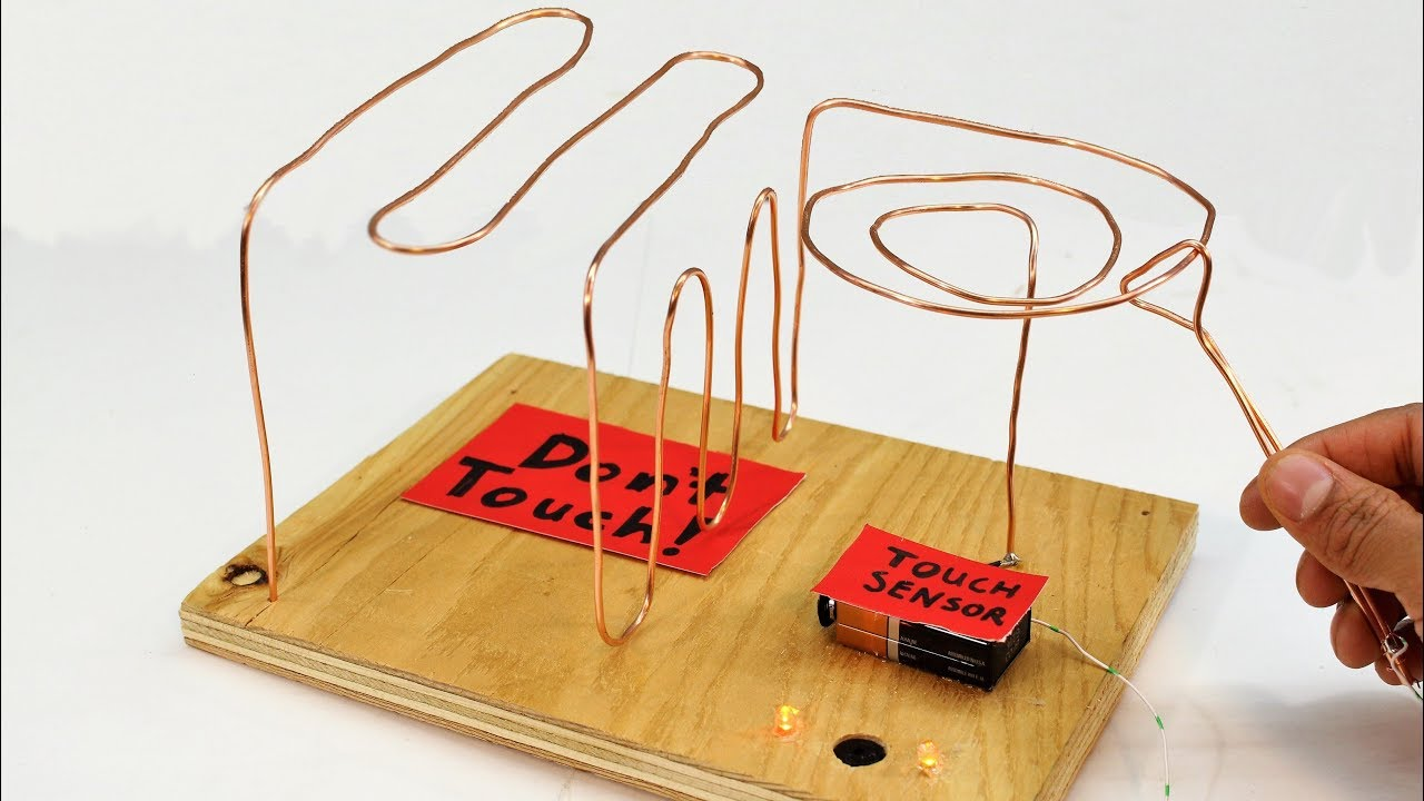 How To Make a Simple Buzz Wire Game