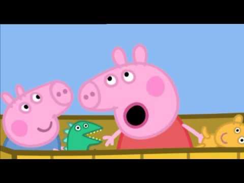 Свинка Пеппа українською сезон 2 серія 36 На повітряній кулі