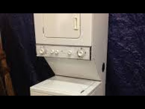 Ge Laundry Center Lid Switch Repair Youtube