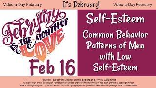 Self-Esteem in Men - Common Behaviors of Males with Low Self Esteem
