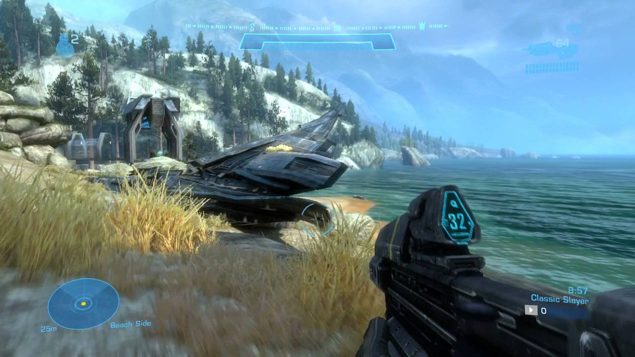 Halo Reach Tempest Map