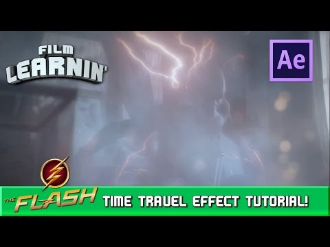 Flash Time Travel After Effects Tutorial! | Film Learnin
