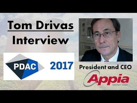 Tom Drivas   Appia Energy: Uranium Explorer In Athabasca Basin