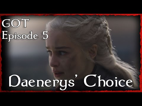 Daenerys' Choice to Wake the Dragon | GoT S8 Analysis