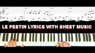 Le Festin Lyrics with Sheet music (Ratatouille) in PDF & MP3