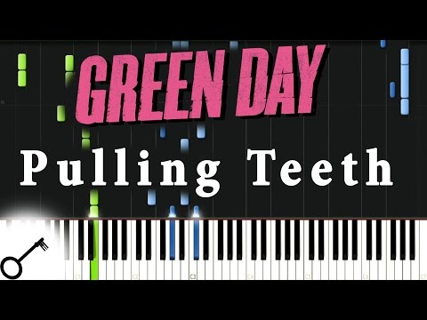 Green Day - Pulling Teeth [Piano Tutorial] Synthesia | passkeypiano