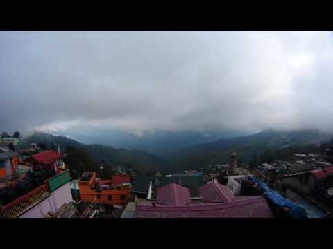 Darjeeling, India - Timelapse in the Himalayan foothills