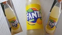 Fanta Zitrone/Lemon jetzt immer ohne Zucker im Test