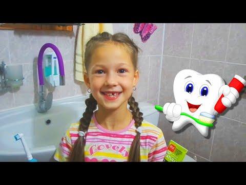 Детская песня Чистим зубы/Brush Your Teeth Song