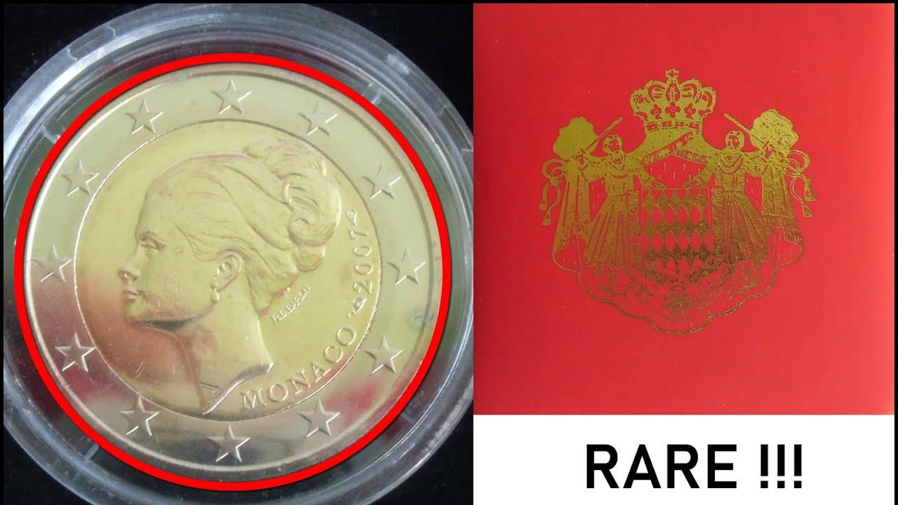 Grace Kelly 2 Euro Gedenkmünze Monaco 2007 Wert 230000 Youtube
