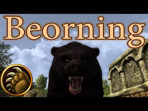 LOTRO: Beorning Gameplay 2016 – Lord of the Rings Online | 2016 Gameplay