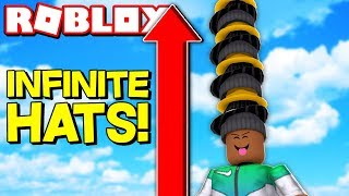 STACKING 999,999 HATS IN ROBLOX!
