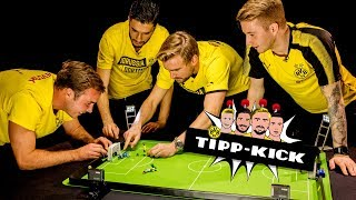 Mario Götze vs. Marcel Schmelzer | The Big FINAL | 🏆 | BVB Tipp-Kick Challenge
