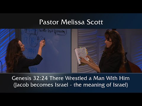 Genesis 32:24 There Wrestled A Man With Him (Jacob Becomes Israel-the Meaning Of Israel) 1 Peter #32
