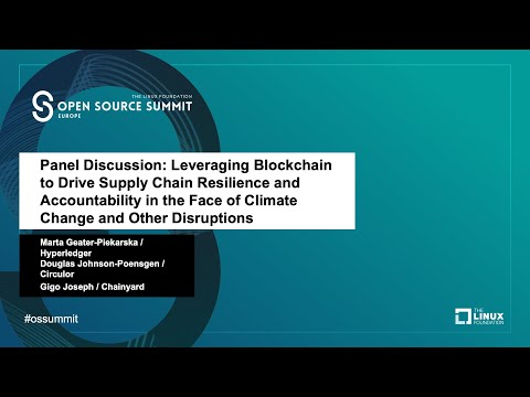 Panel: Leveraging Blockchain to Drive Supply Chain Resilience and Accountability