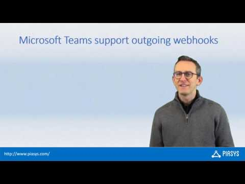 Episode #40 - Creating Outgoing Webhooks for Microsoft Teams with Azure  Functions