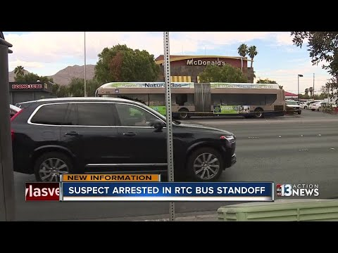 Police release arrest report for RTC bus shooter