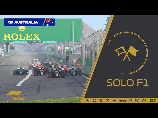 🔴 F1 2020 - Retransmisión SoloF1 // Gran Premio de Australia