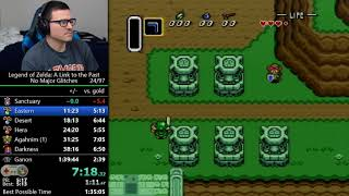 (1:37:09) LTTP No Major Glitches speedrun