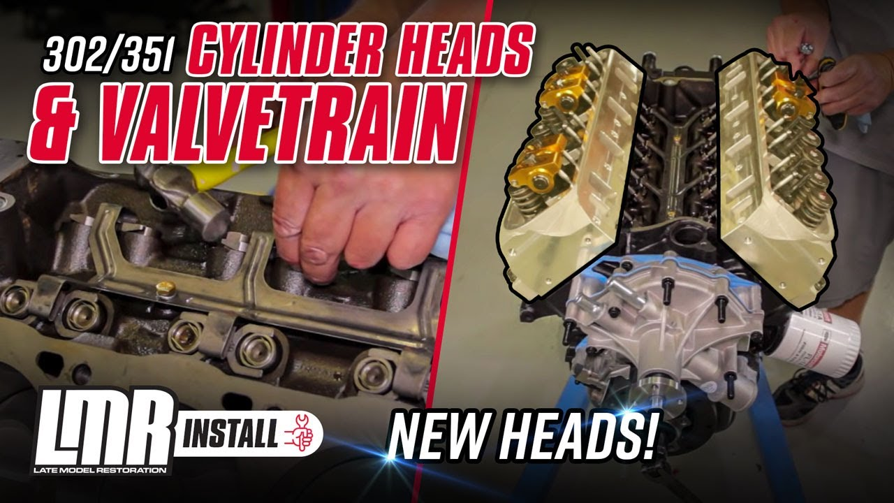 medium resolution of how to install 302 351 mustang cylinder heads and valvetrain 79 95