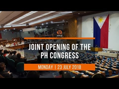 LIVE: Joint opening of the Philippine Congress