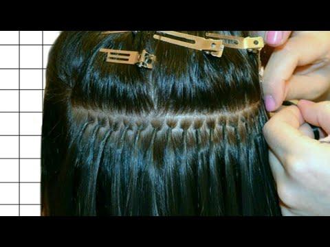 Как сделать наращивание волос в домашних условиях