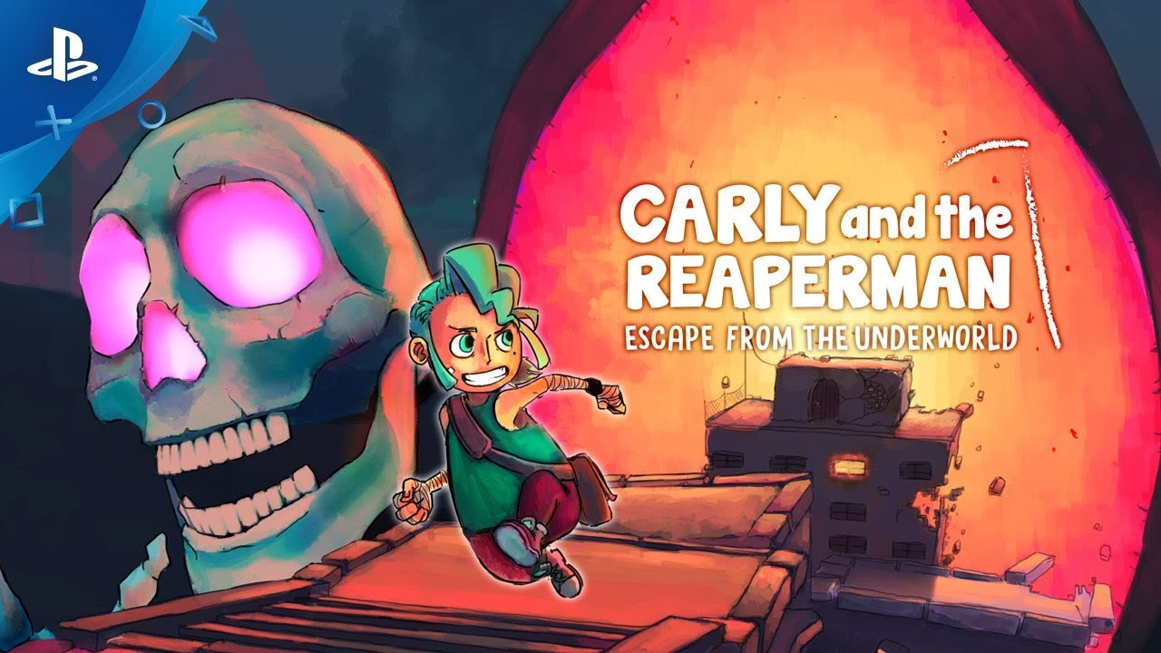 Carly and the Reaperman - Escape from the Underworld - Gameplay Trailer | PS4