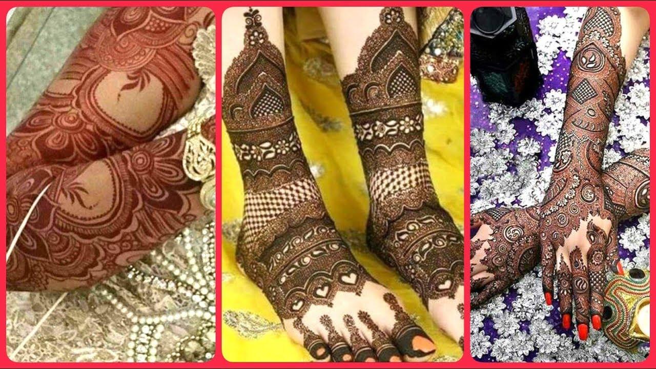 Stunning Bridal Mehndi Designs For Full Hands And Full Feet 2019 Bridal Henna Patterns Youtube,Japanese Style Japanese Cherry Blossom Tattoo Designs