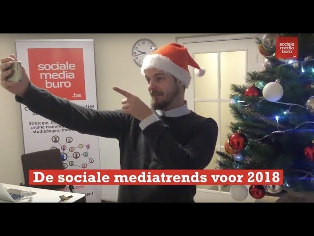 Wat zijn de sociale media trends in 2018?