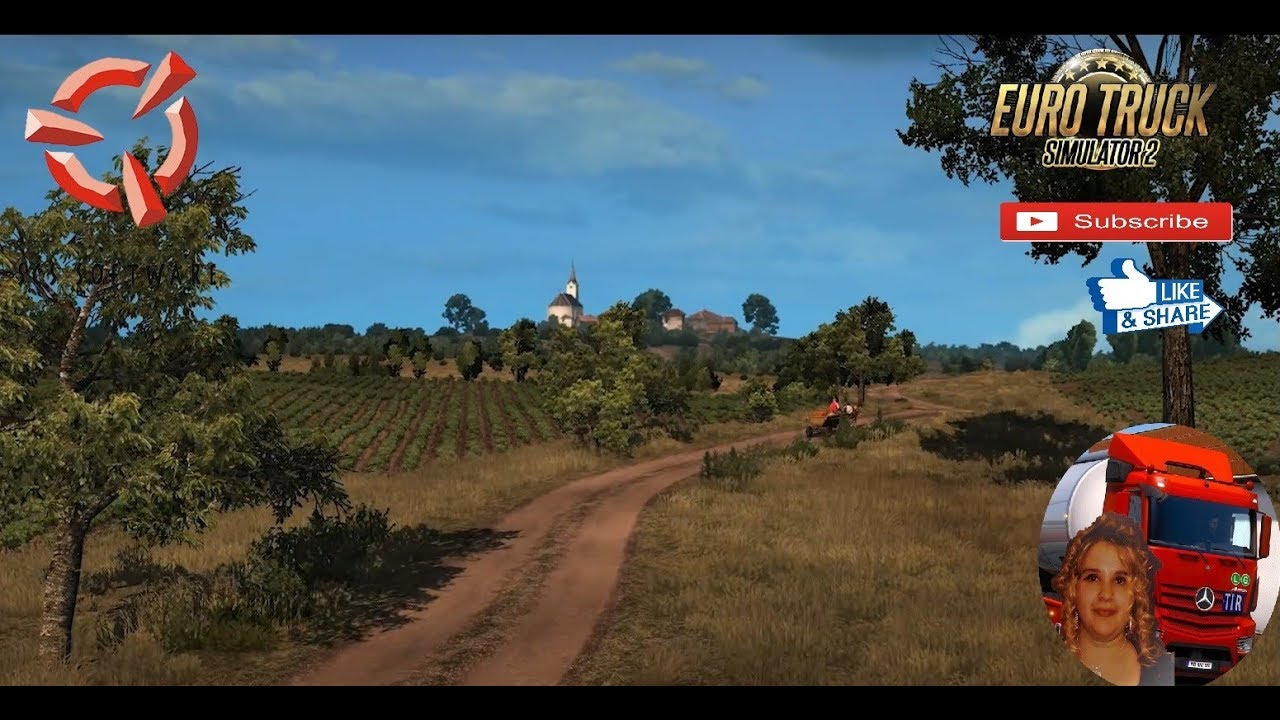 Euro Truck Simulator 2 SCS Software News Teaser Future DLC map A Road to  Somewhere New
