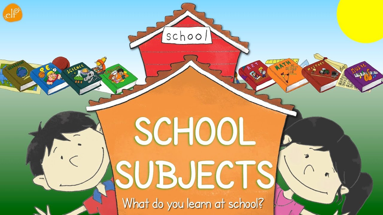 School Subjects | What Do You Learn At School? | Vocabulary ...