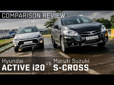 Maruti Suzuki S-Cross vs Hyundai Active i20 :: Comparison :: ZigWheels