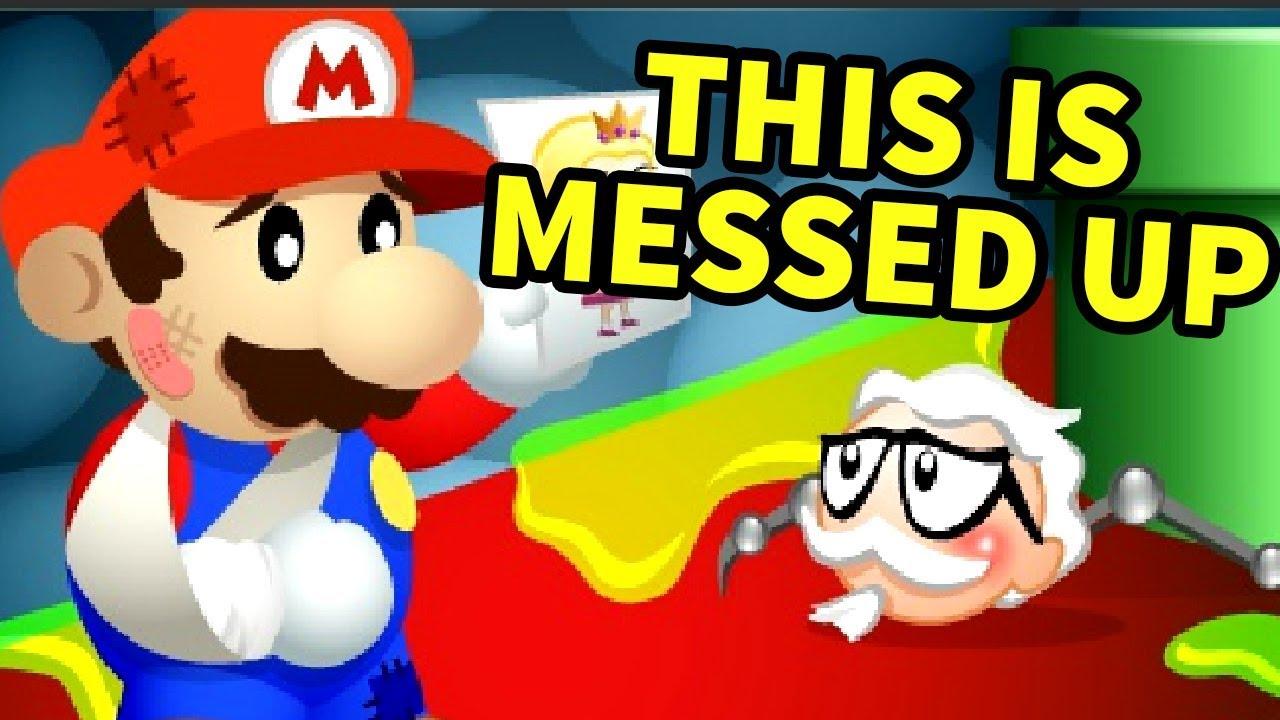 a mario flash game that tried to brainwash us peta mario games