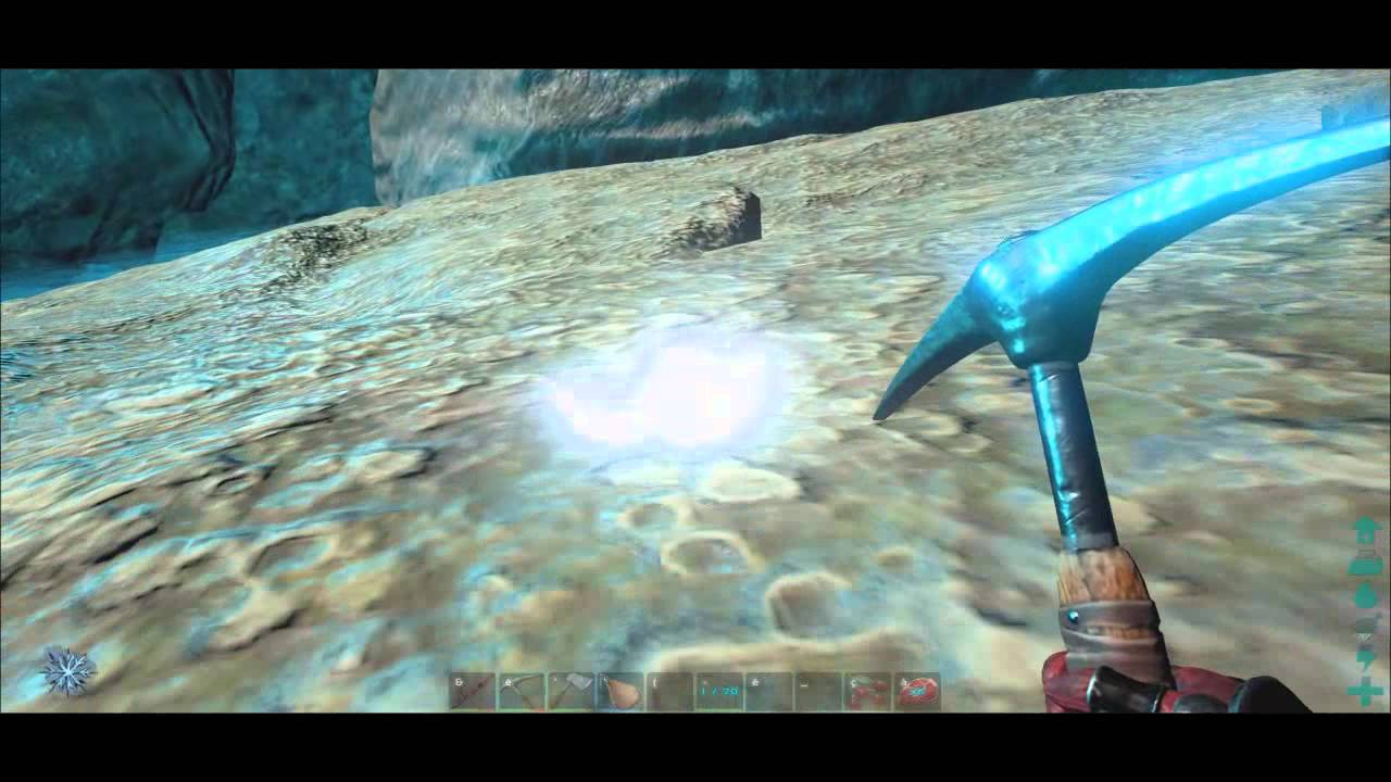 ARK: Survival Evolved - Underwater Caves (Silica Pearls and Oil ...
