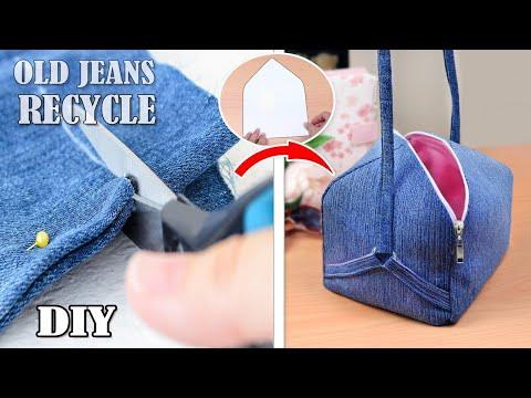 DIY SQUARE POPULAR DESIGN BAG // Zipper Awesome Purse Bag Tutorial 2019