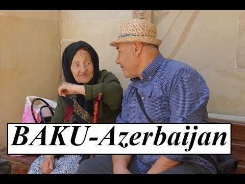 Azerbaijan Baku (Old city-Walking tour)  Part 7