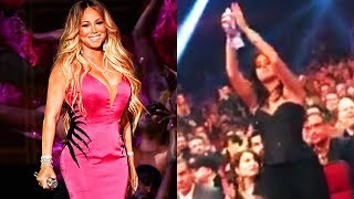 Camila Cabello Gives Mariah Carey A Standing Ovation! (AMA's 2018)
