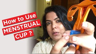How to use a menstrual cup? How to insert a menstrual cup ?