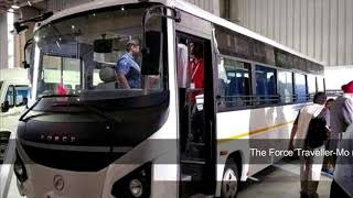 force motors has launched new 33 41 seater traveler mono bus - #Reviews