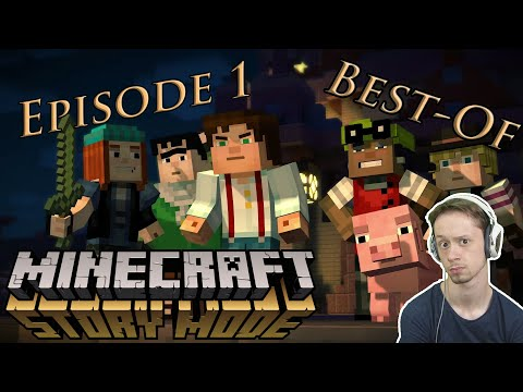 [BEST-OF_Playtrough] Minecraft : Story Mode / Ep.1 [FR] [50FPS] [HD1080]