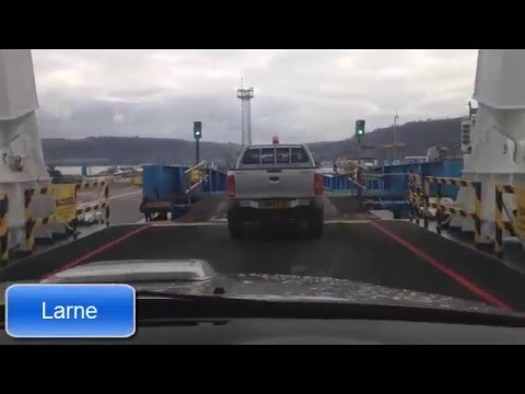 Driving from Scotland to Ireland