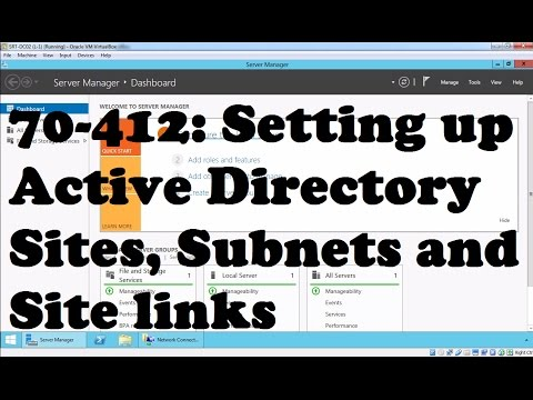 Setting Up Active Directory Sites, Subnets And Site Links